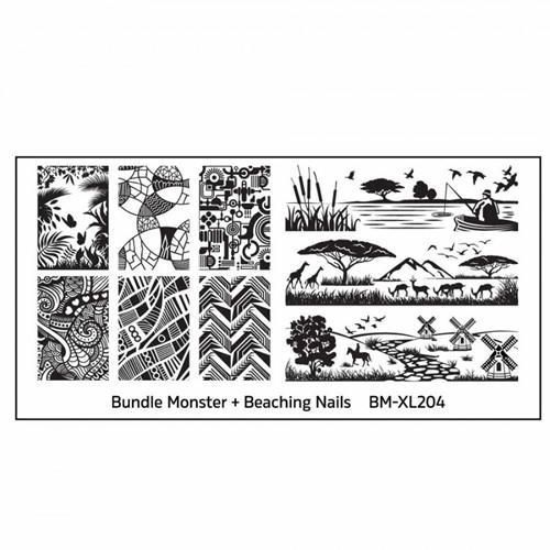 Bundle Monster Stempelplaat - BM-XL204
