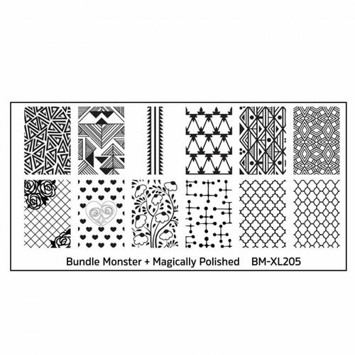 Bundle Monster Stempelplaat - BM-XL205