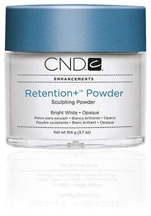 CND™ Retention+ Powder - Bright White Opaque 104 gr