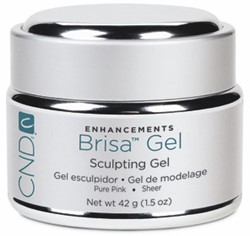 CND™ Brisa Sculpting Gel - Pure Pink 42 gr (Sheer)