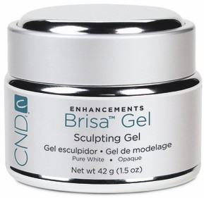 CND™ Brisa Sculpting Gel - Pure White 42 gr (opaque)