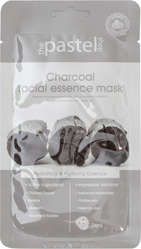 Charcoal Facial Essence Sheet