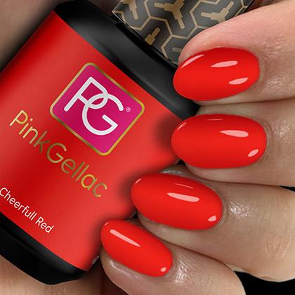 Afbeelding van Pink Gellac #107 Cheerfull Red