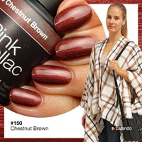 Pink gellac Chestnut Brown