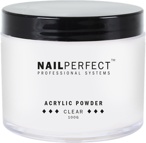 Nail Perfect Acryl Poeder - Clear 100 gr