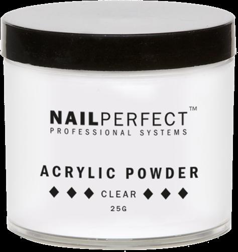 Nail Perfect Acryl Poeder - Clear 25 gr