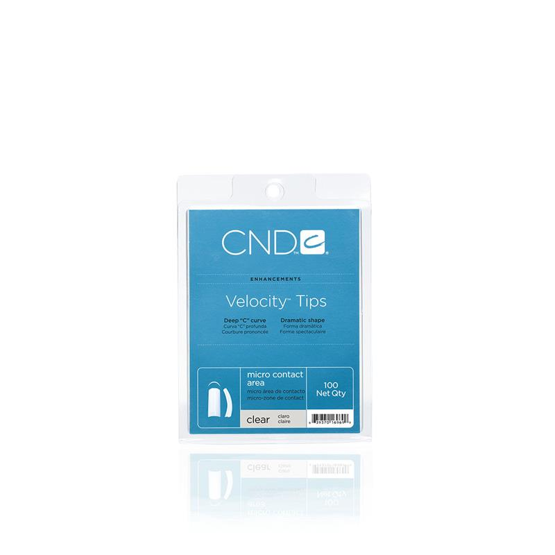 Afbeelding van CND ™ Velocity Tips - Clear 100 st.