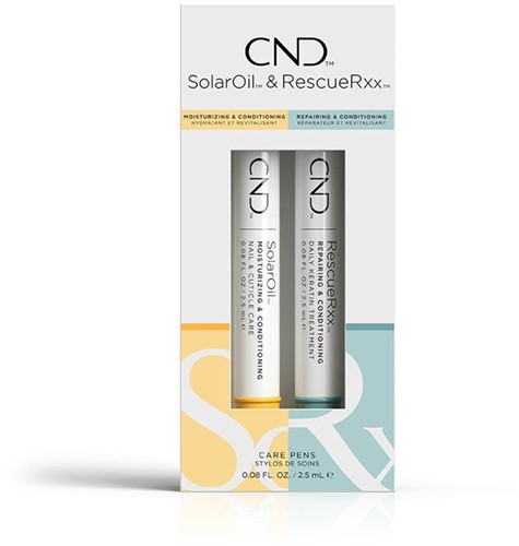 CND Essentials Care penselen Duo Pack