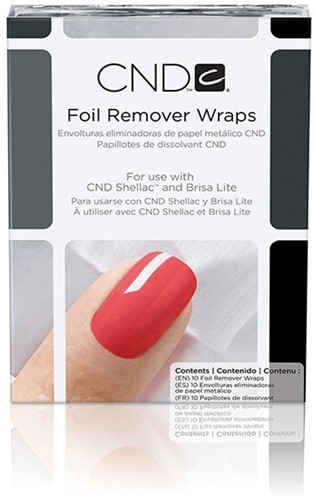 CND™ Foil Remover Wraps