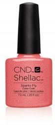 CND™  Shellac™ Sparks Fly