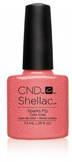 CND™  Shellac™ Sparks Fly