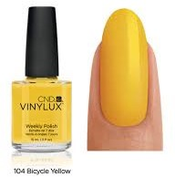 CND™ Vinylux™ Bicycle Yellow #104-2