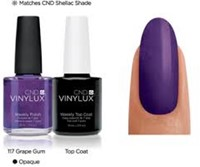 CND™ Vinylux™ Grape Gum #117-2