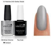 CND™ Vinylux™ Silver Chrome # 148-2