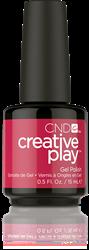 CREATIVE PLAY Gel Polish – Crimson like it hot #415