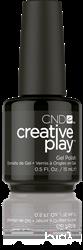 CREATIVE PLAY Gel Polish – Black Forth #451