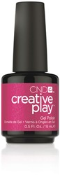 CREATIVE PLAY Gel Polish – Cherry Glo Round #496