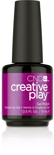 CREATIVE PLAY Gel Polish – The Fuchsia is Ours #442