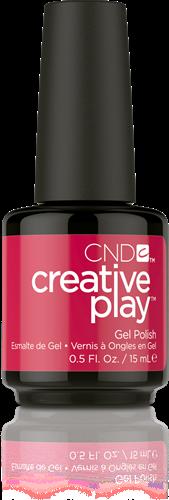 CREATIVE PLAY Gel Polish – Well Red #411