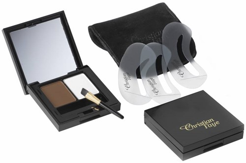 Christian Faye Duo Set : Wenkbrauwpoeder + Highlighter