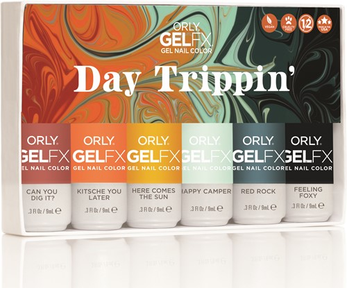 ORLY GELFX - Day Trippin Collectie 6pack