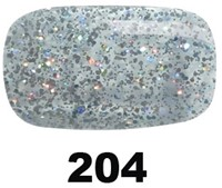 Pink Gellac #204 Diamond Silver-3