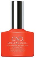 CND™ SHELLAC LUXE™ Electric Orange #112