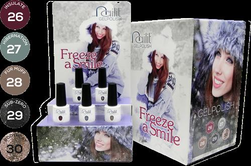 NailIt Gelpolish - Freeze a Smile Display