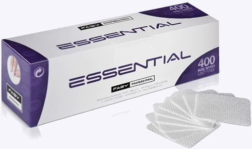 Faby Essential lint Free Nail Wipes 400 st