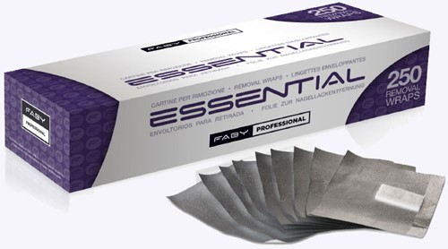 Faby Essential Removal Wraps 250 st