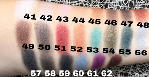 GR - Soft Color Pearl Eyeshadow #61-2