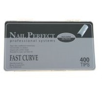 Nail Perfect Fast Curve tips - 400 st.