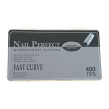 Afbeelding van Nail Perfect Fast Curve tips - 400 st.