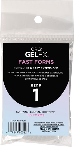 Orly BIAB Fast Forms Size 1