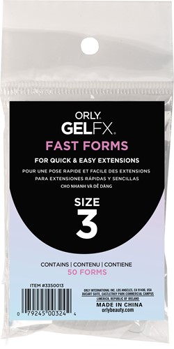 Orly BIAB Fast Forms Size 3