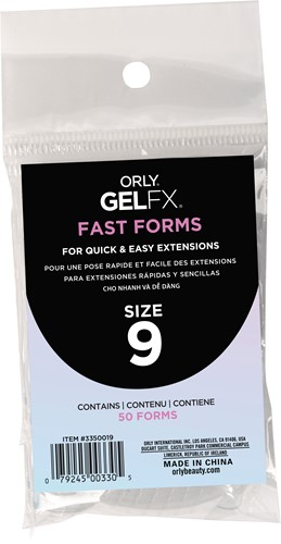 Orly BIAB Fast Forms Size 9