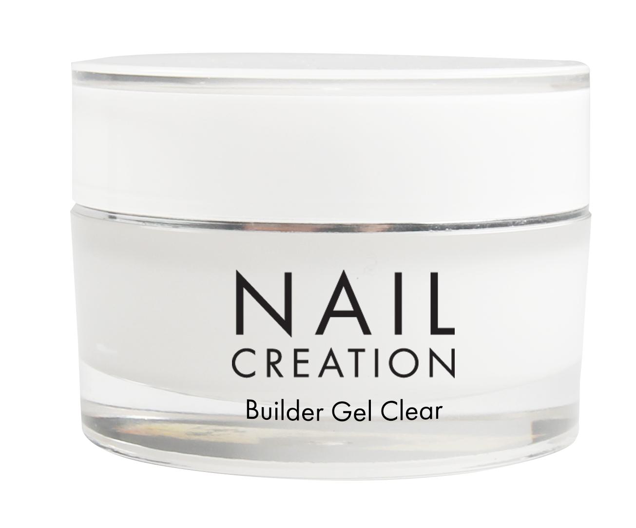 Afbeelding van Nail Creation Builder Gel - Clear 15 ml