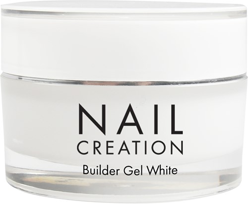 Nail Creation Builder Gel - White 30 ml