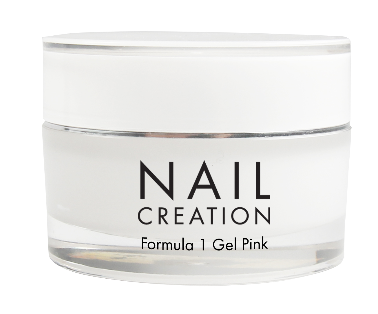 Afbeelding van Nail Creation Formula 1 Gel - Pink 50 ml