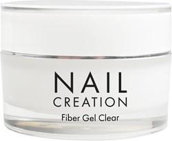 Nail Creation Fiber Gel - Clear