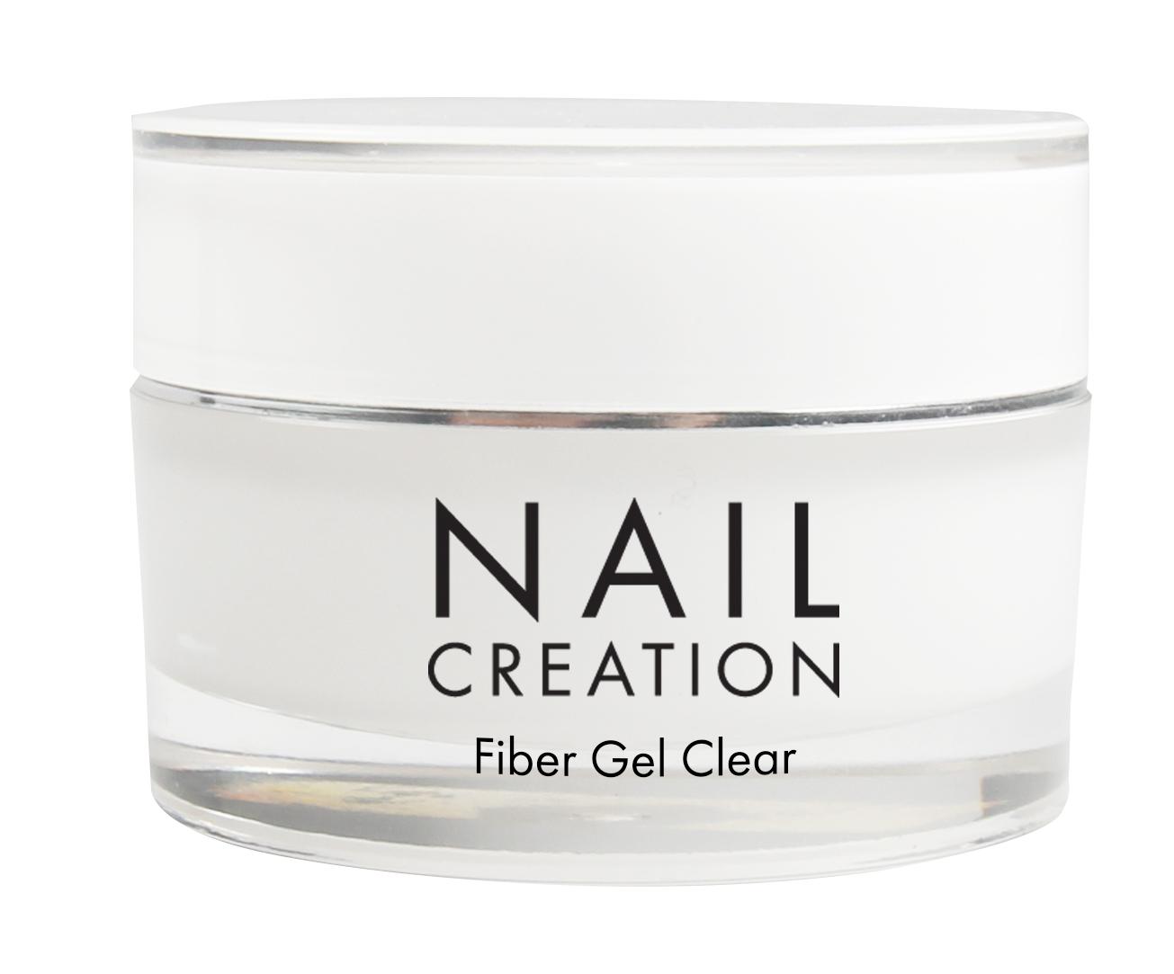 Afbeelding van Nail Creation Fiber Gel - Clear