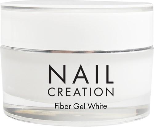 Nail Creation Fiber Gel - White