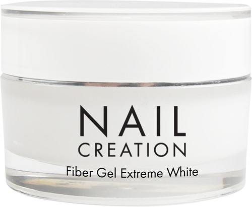 Nail Creation Fiber Gel - Extreme White 30 ml