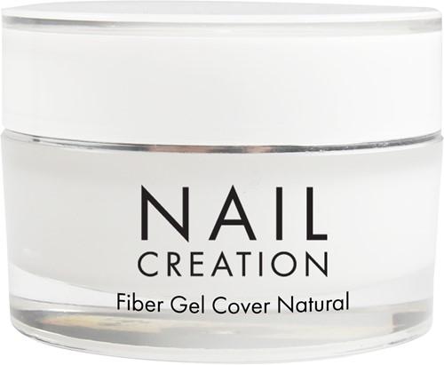 Nail Creation Fiber Gel - Cover Natural 30 ml