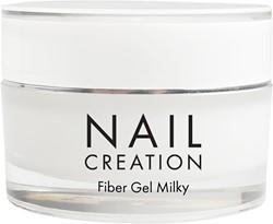 Nail Creation Fiber Gel - Milky
