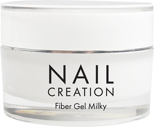 Nail Creation Fiber Gel - Milky 15 ml