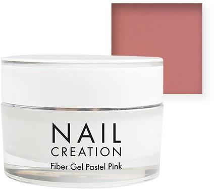 Nail Creation Fiber Gel - Pastel Pink 15 ml
