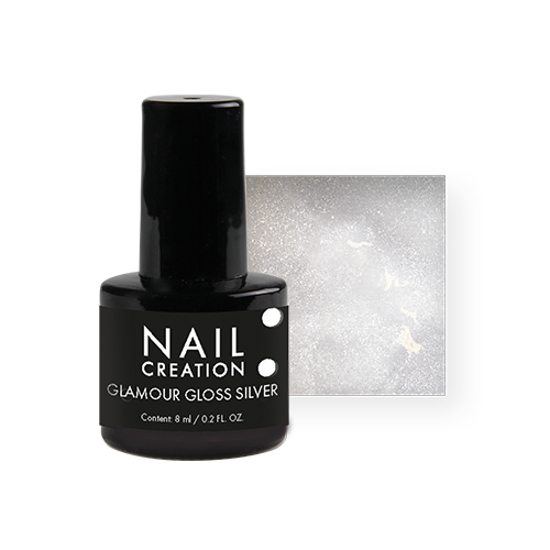 Afbeelding van NC - Glamour Gloss Silver 8ml