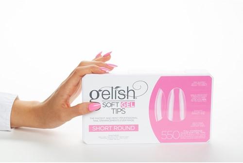 Gelish - Soft Gel Tips Short Round