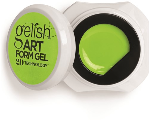 Gelish 2D Artformgel Neon Yellow
